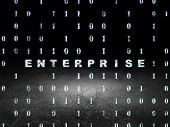 image of enterprise  - Business concept - JPG