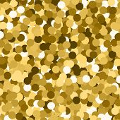 Glowing Glitter Bokeh Vector Lights Effect Glowing Sparkle Blur Stars Glowing Background Illustratio poster