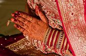 pic of mehendi  - Indian Marriage or weddings or Engagements are full of rituals - JPG