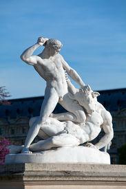 stock photo of minotaur  - Theseus and the Minotaur  - JPG