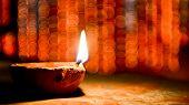Happy Deepavali, Elegant Shiny Diwali Festival Design. Happy Diwali Indian Deepavali, Hindu Festival poster