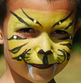 Facepainted Tiger