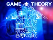 Writing Note Showing Game Theory. Business Photo Showcasing Branch Of Mathematics Concerned With Ana poster