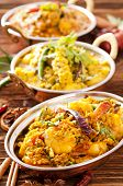 stock photo of indian food  - Indian food - JPG