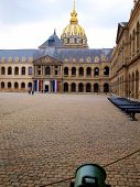 Les Invalides In Paris Historic Building
