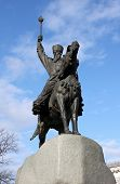 stock photo of hetman  - monument to Hetman Konashevych - JPG