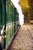 stock photo of tierra  - End of World Train (Tren fin del Mundo) Tierra del Fuego Patagonia Argentina