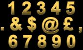Gold Numbers & Punctuation