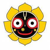 image of lord krishna  - Jagannath - JPG