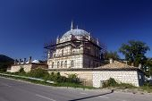 picture of sherif  - Tombul mosque in Shumen Bulgaria under construction - JPG