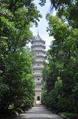 image of shan  - Linggu Pagoda in Purple Mountain  - JPG