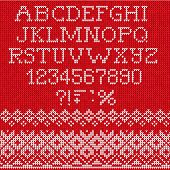 foto of scandinavian  - Vector Illustration of Christmas Font - JPG