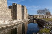 pic of gang  - Smederevo Fortress with water gang in Serbia - JPG