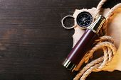 picture of marines  - Marine still life spyglass - JPG