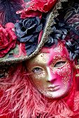 foto of venice carnival  - Carnival of Venice beautiful masks at St. Mark