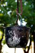 foto of cauldron  - a huge - JPG