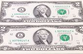 picture of two dollar bill  - Two - JPG