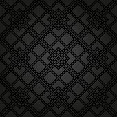 picture of diagonal lines  - Geometric fine abstract  pattern with black diagonal lines - JPG