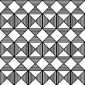 picture of aztec  - Seamless Rhombus Pattern - JPG
