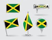 pic of jamaican  - Set of Jamaican pin - JPG