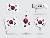 picture of korean  - Set of South Korean pin - JPG