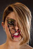 image of nose ring  - Girl - JPG