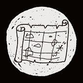 pic of treasure map  - Treasure Map Doodle - JPG
