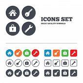 pic of key  - Home key icon - JPG