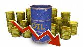 stock photo of fuel economy  - price of fuel decreases  - JPG