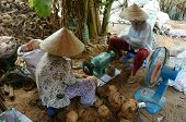 stock photo of polution  - BEN TRE VIET NAM - JPG