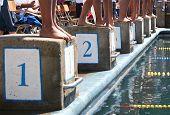 pic of swim meet  - This photo was taken at a local swim meet - JPG