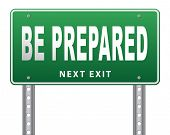 Be prepared for the worst and ready before the big change. Are you ready, it is time to plan ahead a poster