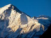 pic of cho-cho  - Mountains peak Cho Oyo - JPG