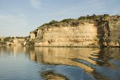 stock photo of possum  - Possum Kingdom lake is the Great Lake of Texas - JPG