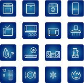 Household Appliances Icons Set
