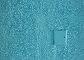 Background Texture Wall Plaster Barbed Not Level Blue Putty Exterior Painting Shield Electricity poster