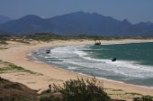 pic of dauphin  - Shipwreck Bay in Fort Dauphin Madagascar Africa - JPG