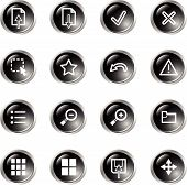 Black Drop Viewer Icons