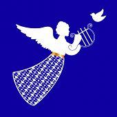 stock photo of cherubim  - angel  - JPG