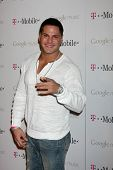 LOS ANGELES - NOV 16:  Ronnie Ortiz-Magro arrives at the Google Music Launch at Mr. Brainwash Studio