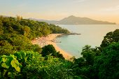 Landscape From Phuket View Point At Leam Sing Beach  Located In Phuket Province, Thailand. poster