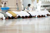 stock photo of masjid  - Islamic Prayer - JPG