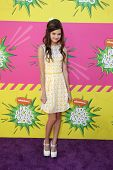 LOS ANGELES - MAR 23:  Ciara Bravo arrives at Nickelodeon's 26th Annual Kids' Choice Awards at the U