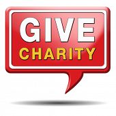 Give charity button donate raise money to help donate gifts fundraising give a generous donation or