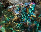 image of iron pyrite  - Abstract background gold bronze copper iron - JPG