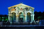 picture of gethsemane  - The Church of All Nations  - JPG