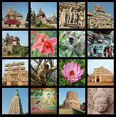 stock photo of trichy  - Go India collage  - JPG