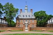 stock photo of virginia  - Governors Palace of British Colony - JPG