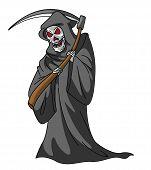 stock photo of reaper  - Grim Reaper Editable  - JPG