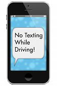 Постер, плакат: No Texting While Driving